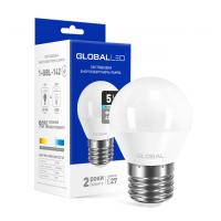 LED лампа GLOBAL G45 F 5W яркий свет E27 (1-GBL-142-02)